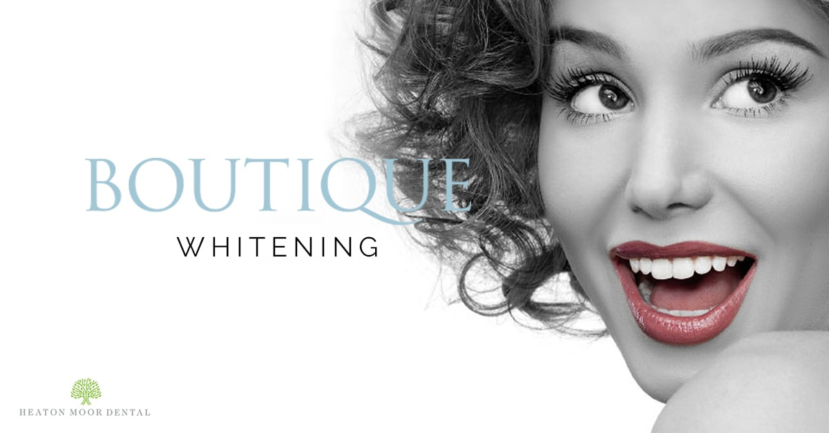 Boutique Teeth Whitening Centre at Heaton Moor Dental in Stockport